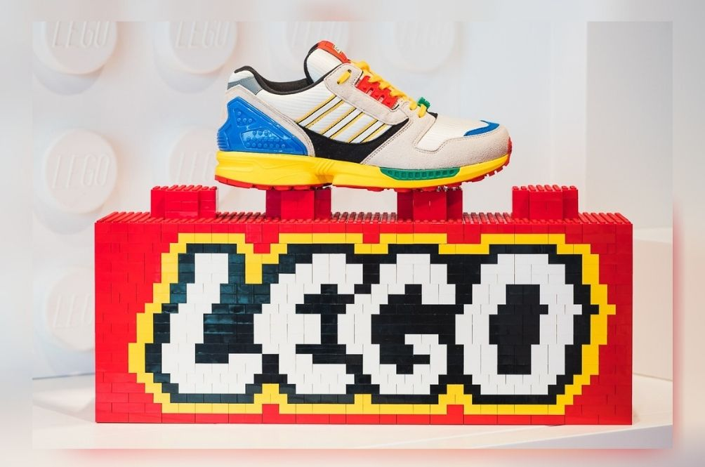 [PHOTOS] Get Ready To 'Build' Your Own LEGO X Adidas ZX 8000 Sneakers Soon!