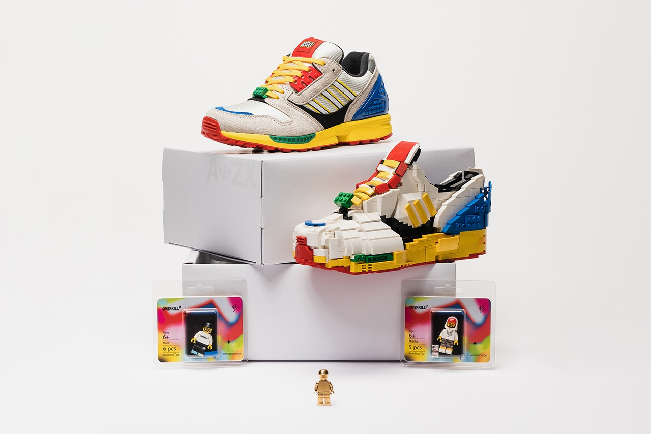 From LEGO to Adidas sneakers.