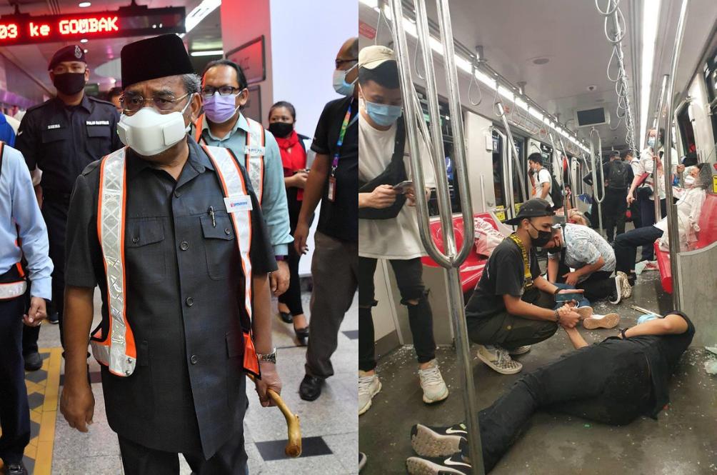 Netizens Are Angry With How Prasarana And Tajuddin Handled The #LRTKelanaJaya Accident
