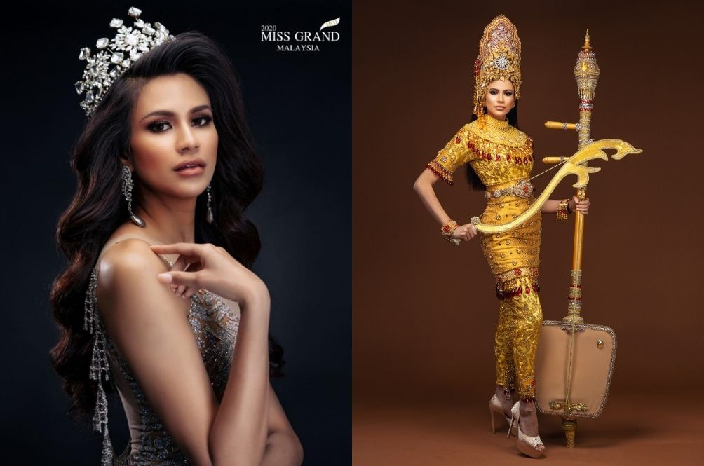 Miss Grand Malaysia 2020's National Costume Features The 'Mak Yong' Culture And It Looks Stunning!