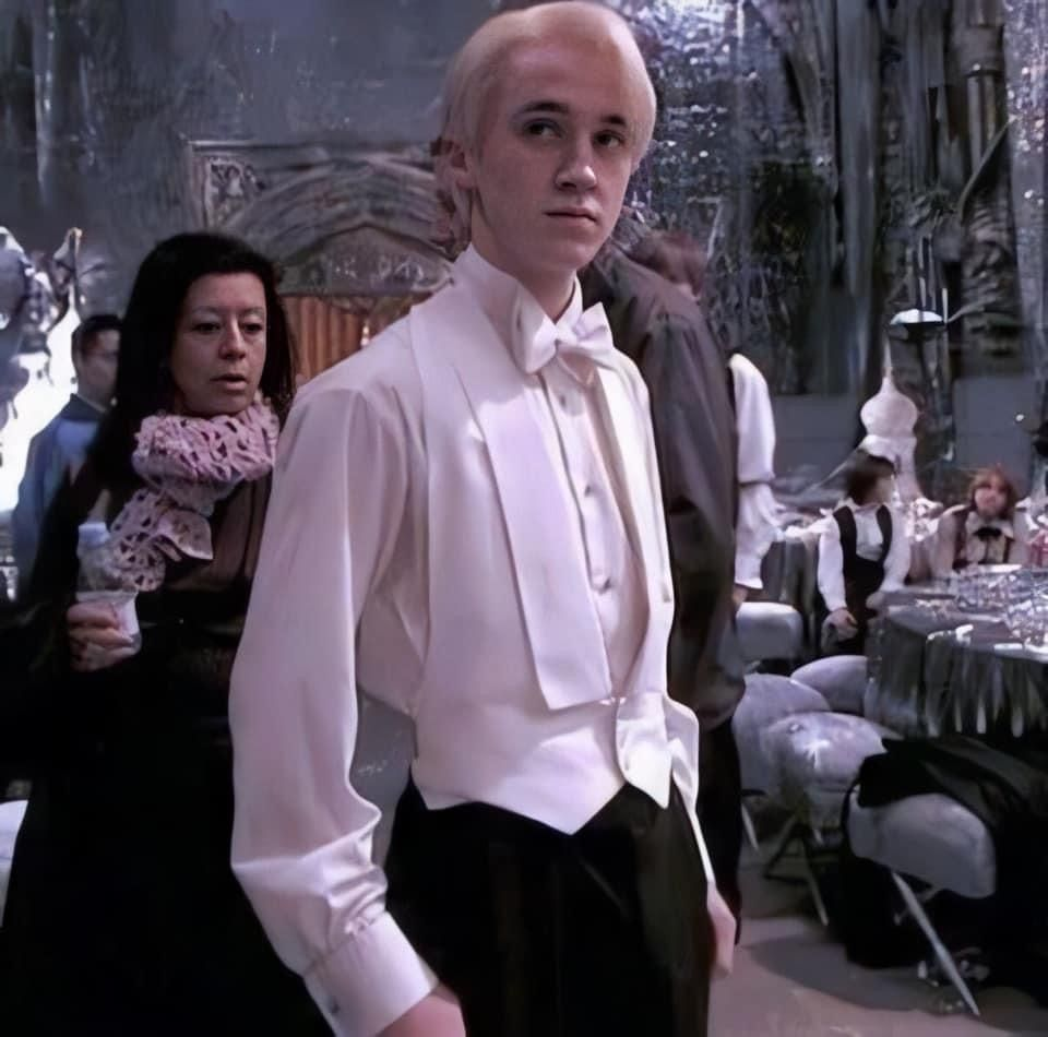 We've been robbed from this scene at the Yule Ball!