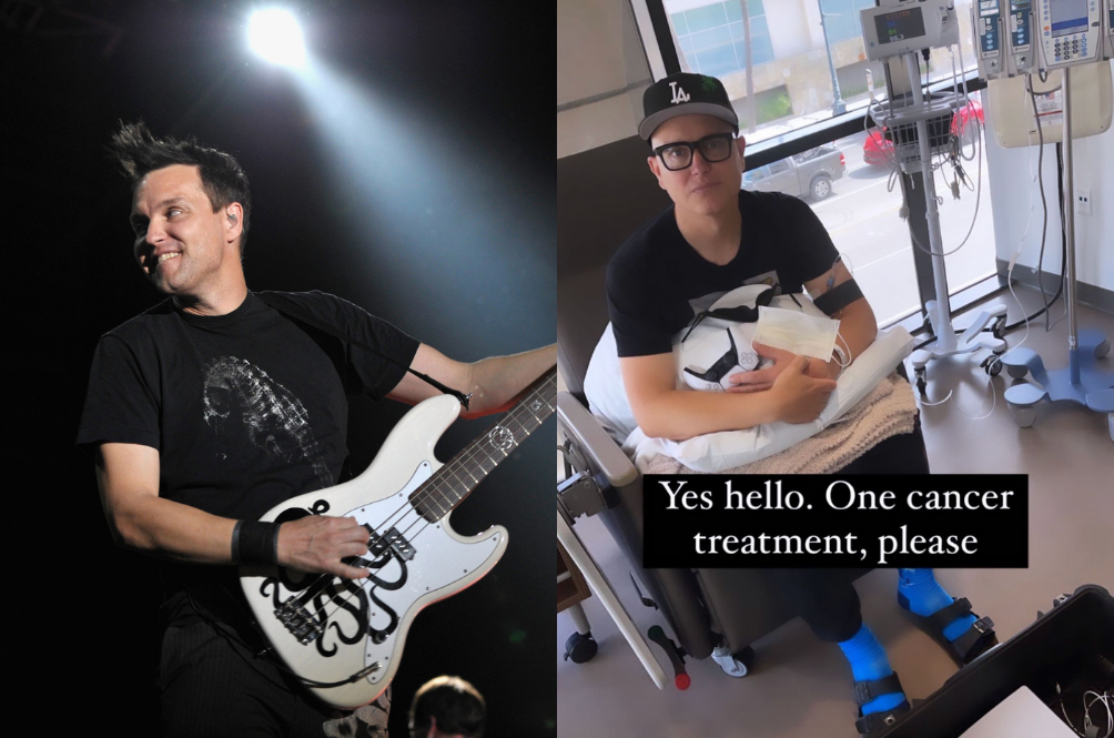 """""""It Sucks And I'm Scared"""" - Blink 182's Mark Hoppus Reveals That He Has Cancer"""