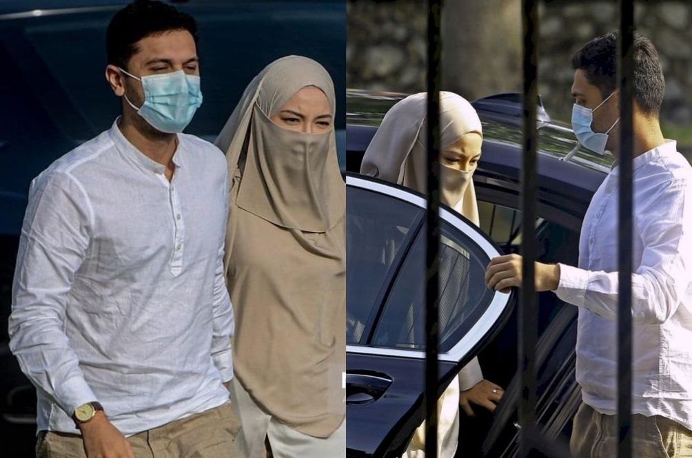 Neelofa Shows Up In Court Allegedly Without Wearing A Facemask, Triggering Netizens