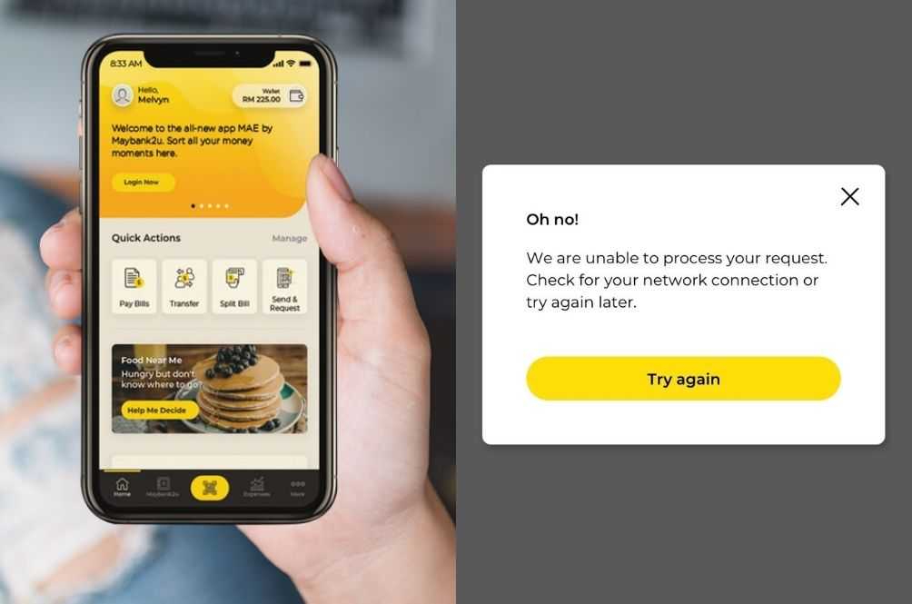 Maybank Website, Apps Including MAE Are Currently Down Leaving Netizens Fuming