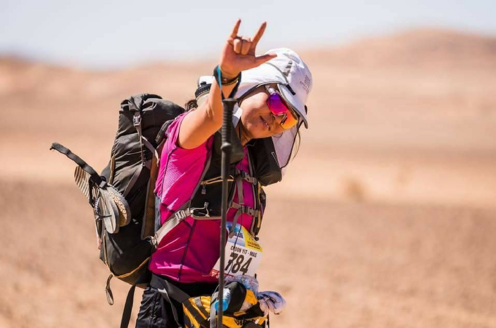 This Woman Is The First Malaysian To Compete In The Sahara Desert Marathon