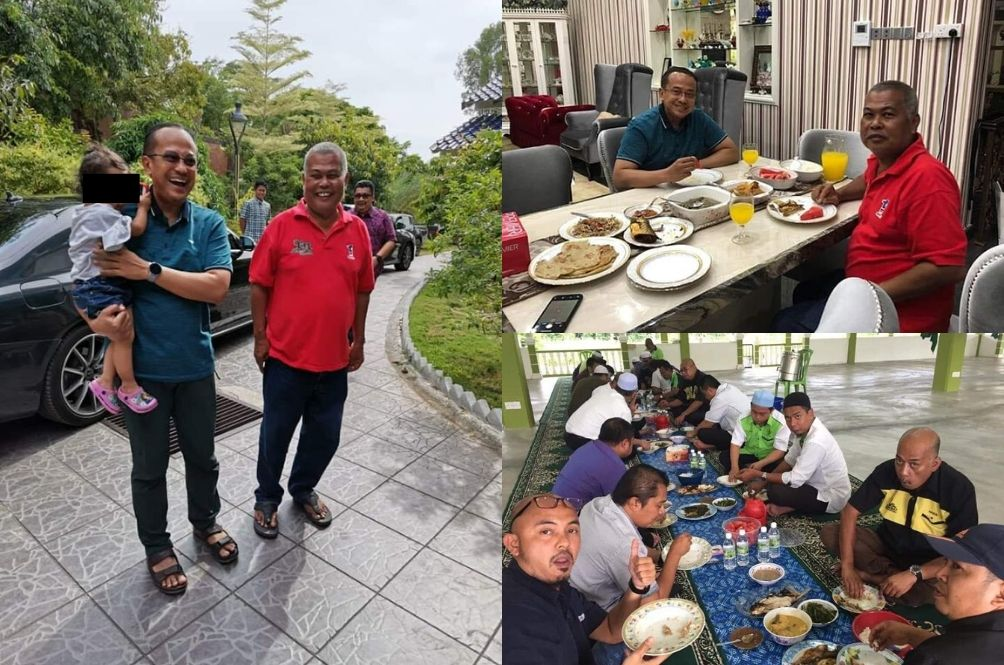 Two Ministers Were Proudly Out Having Lunch During MCO; Malaysians Pissed Off!