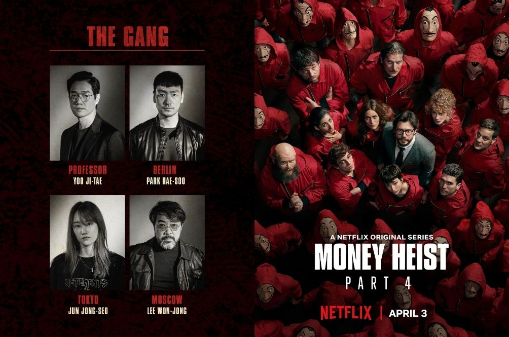 Daebak! Netflix Announces The Full Cast For Korean Adaptation Of 'Money Heist'