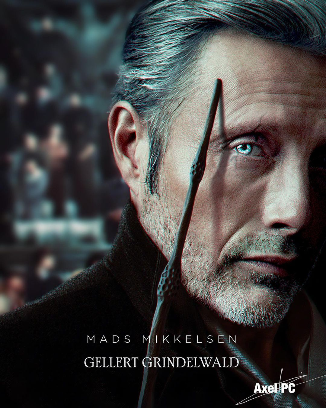 What Mads would look like as the dark wizard.
