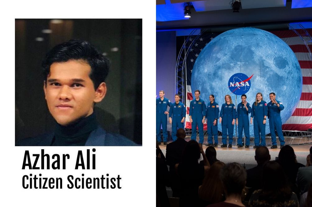 20-year-old Malaysian Awarded NASA Scholarship After Beating Over 3 MILLION Participants