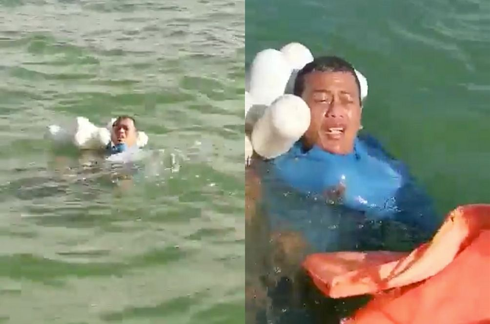 """""""My Dad Is Gone"""" – Heartbreaking Video Of Fisherman Found At Sea Will Make You Cry"""