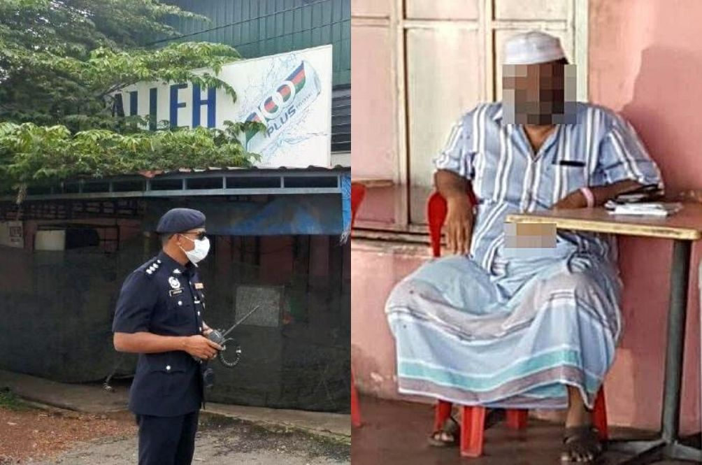 Man Who Flouted Quarantine Is A Nasi Kandar Shop Owner, Police Urge Public To Test For COVID-19