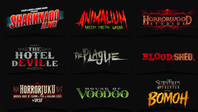 Pick your horror zone.