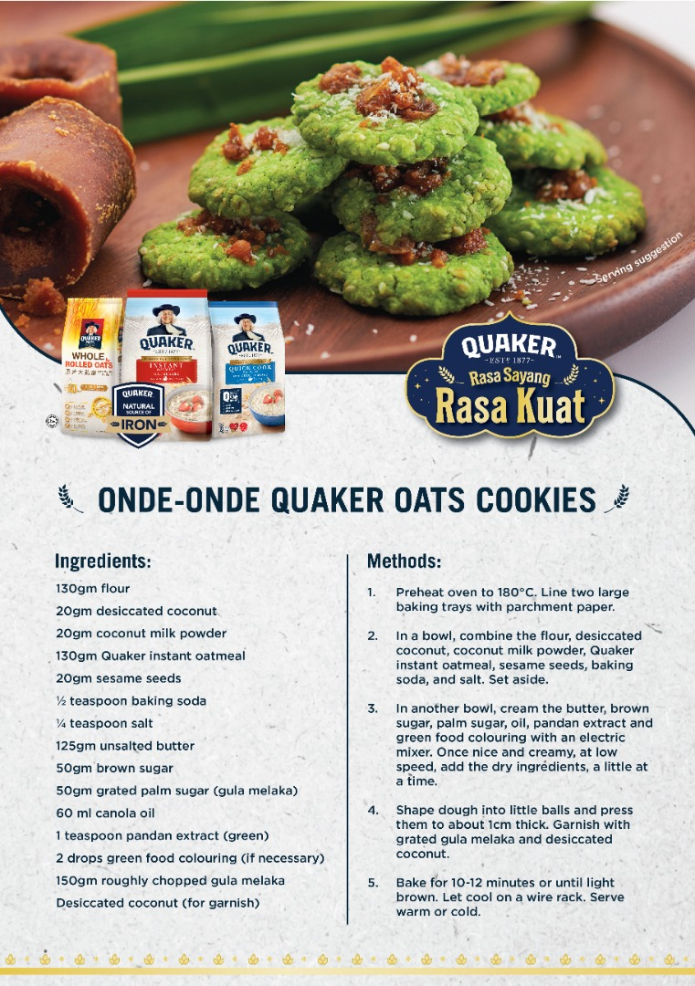 Can try this for your kuih raya collection.