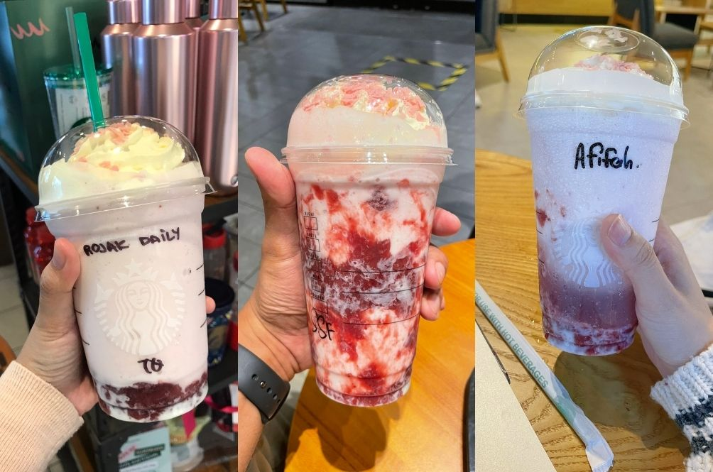 Malaysians Are Going Crazy For The Sakura Blossom Strawberry Frappuccino, So We Decided To Try It