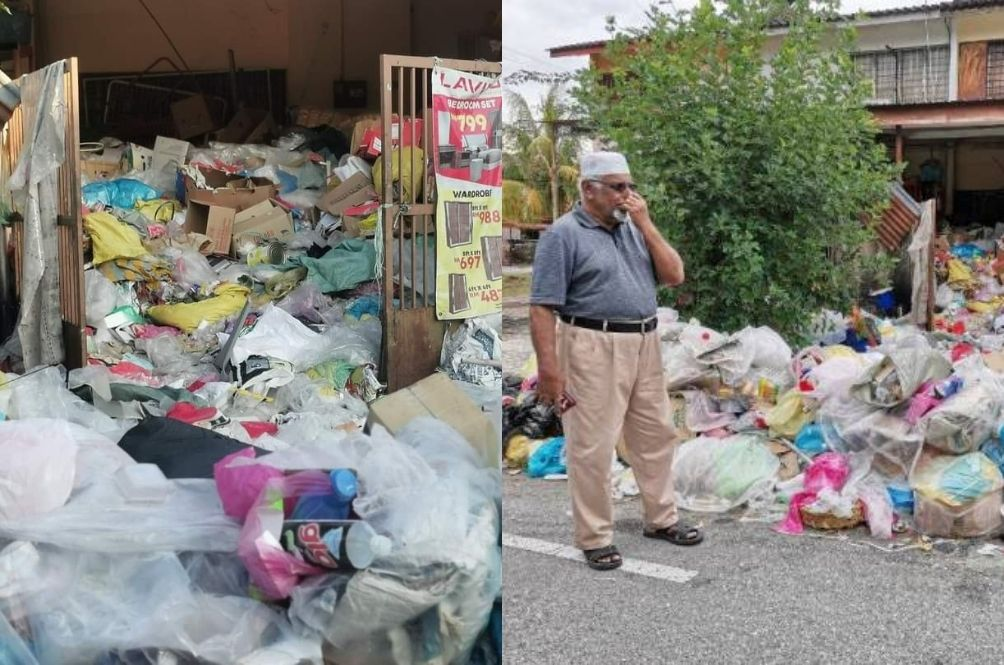 Perak Retired Teacher Hoards Rubbish For Over 10 Years, Making Neighbours Suffer