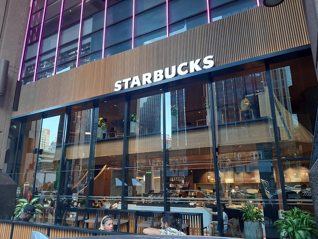 The Starbucks outlet in Jalan Imbi where the incident took place.