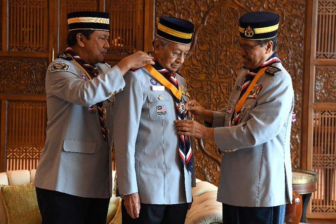Congratulations, Tun M!