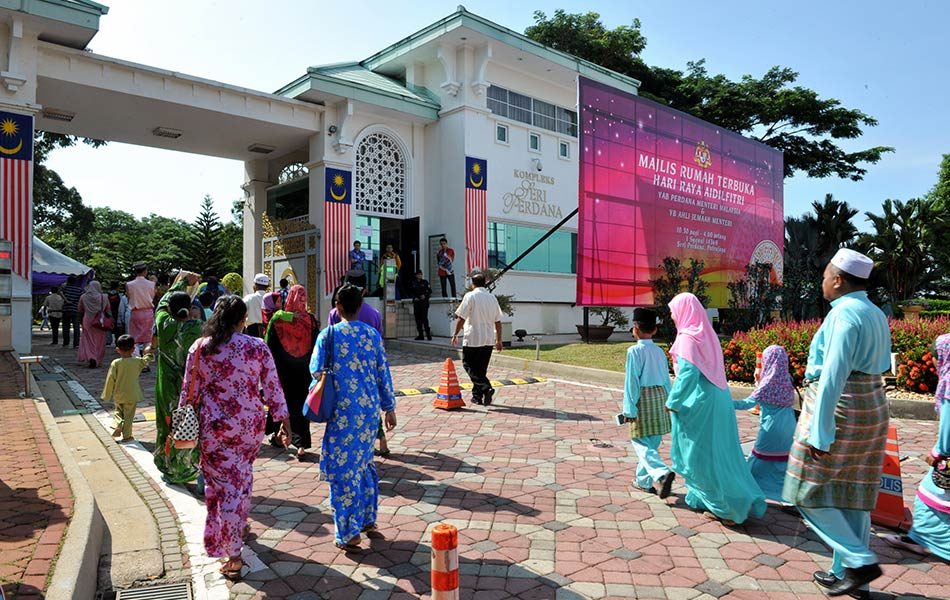 Have you guys ever been to any of the government's Raya open house?