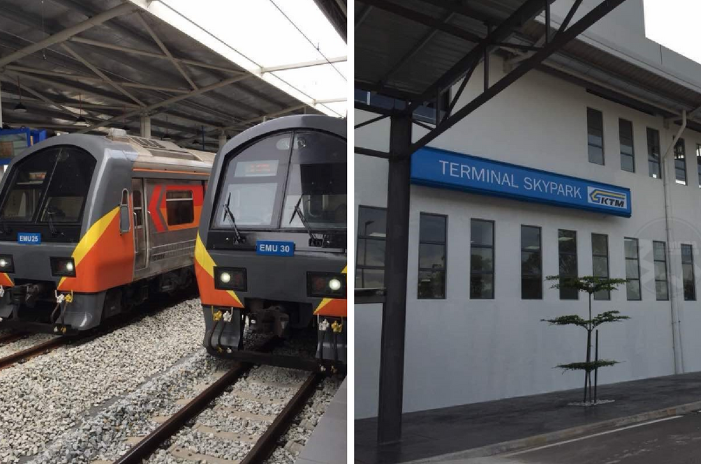You Can Now Travel Directly To Subang Airport Via The KTM Train