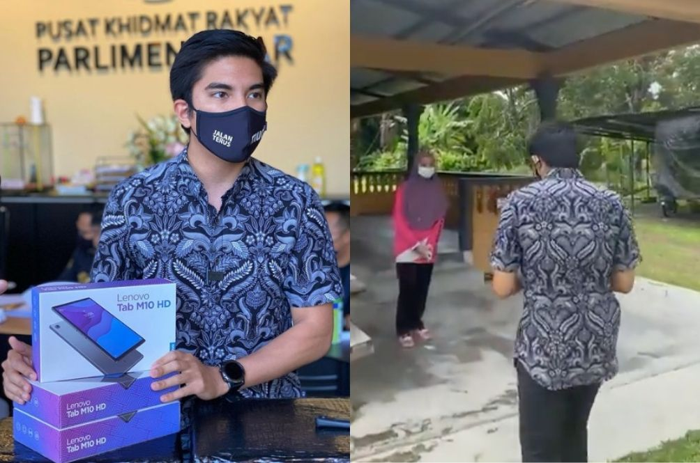 """Syed Saddiq Hands Out Aid In 60 Seconds, Impressing Netizens – """"No Stickers, No Banners, Just Go"""