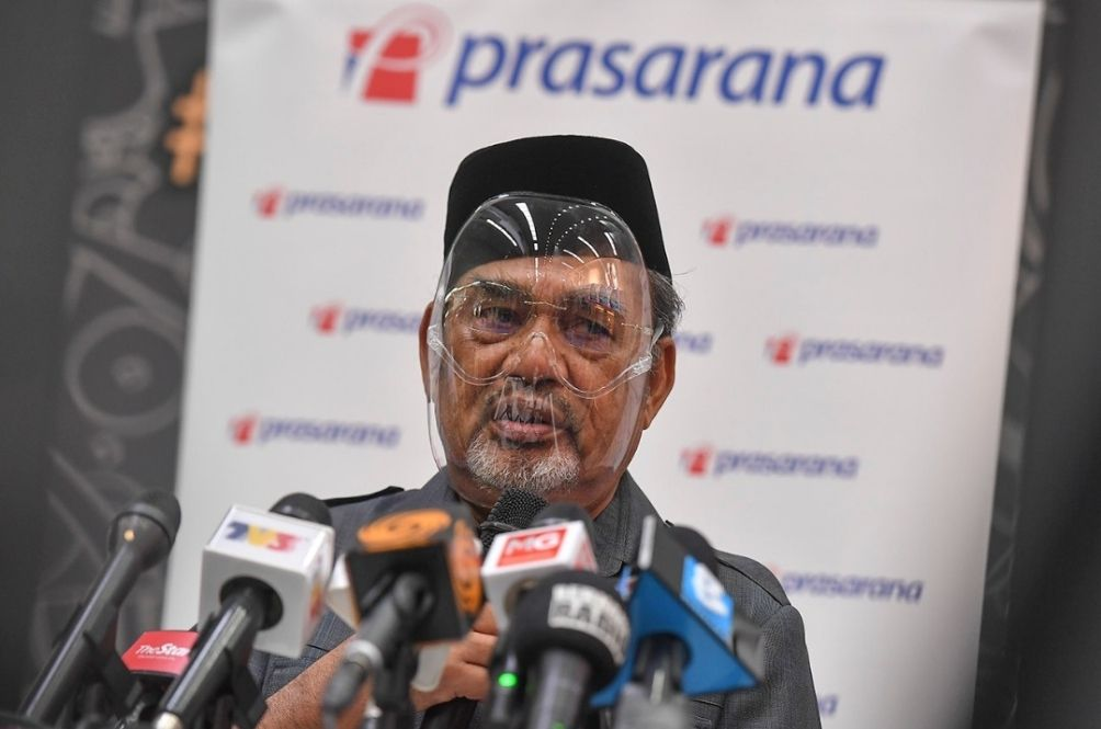 Tajuddin Slapped With Fine First Thing In The Morning For Not Wearing Facemask During PC
