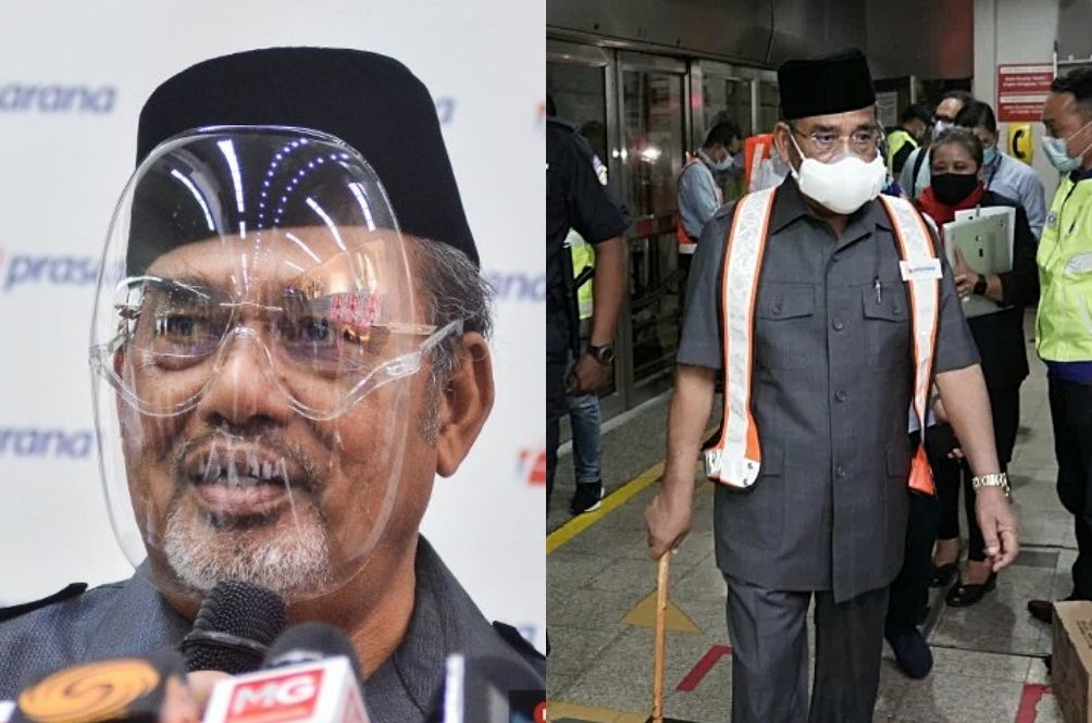 Tajuddin Starter Pack: Here's Where To Buy His Fancy Face Shield And Facemask