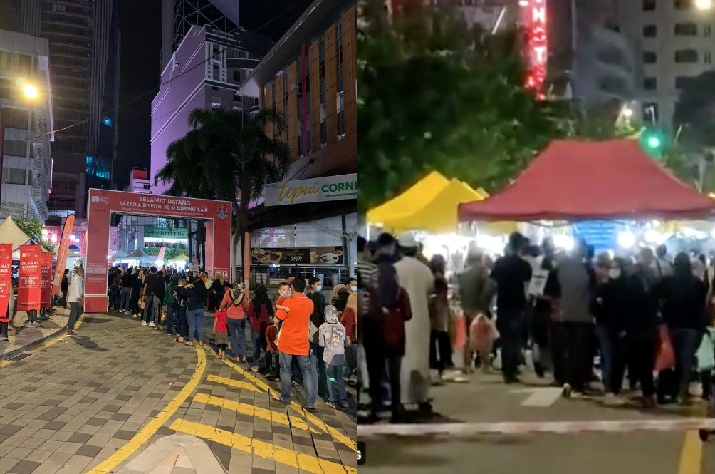 Have Malaysians Forgotten About COVID-19? Latest Photos From KL Bazaars Show Scary Reality