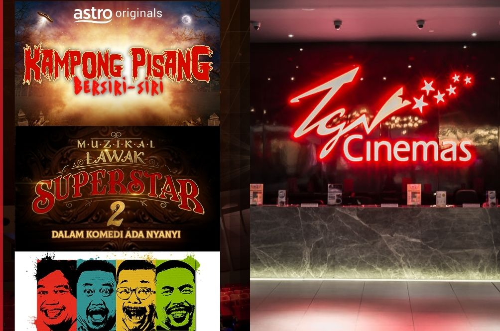 Miss The Cinemas? You Can Now Catch Exclusive Astro Signature Shows At TGV Cinemas!
