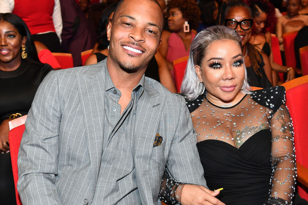 T.I. and wife, Tiny.