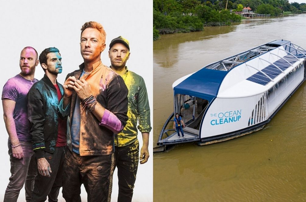 And It Was All Yellow: Coldplay Sponsors Watercraft To Help Clean Up Our Malaysian Rivers