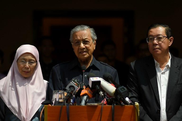 Good call, Tun M! Glad that the ministers agreed to the pay cut as well.