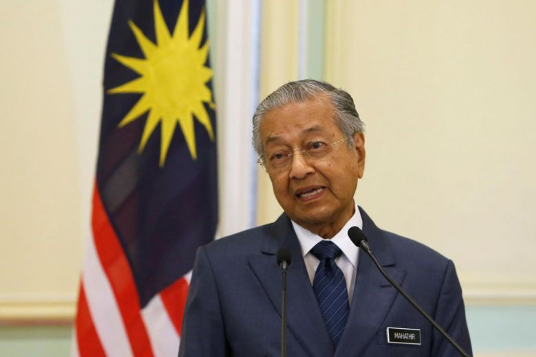The only person in Malaysian history to be Prime Minister twice!