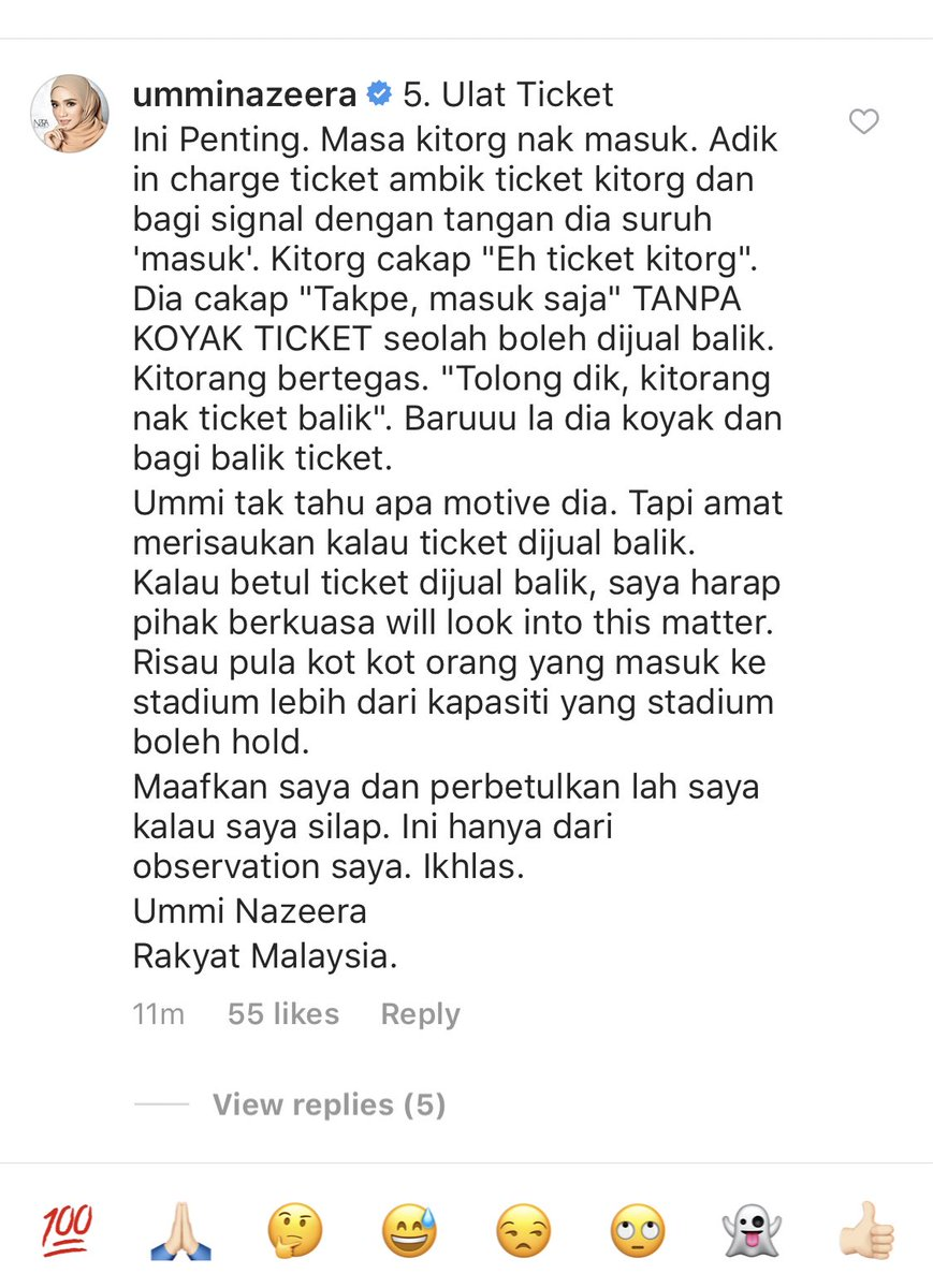 Read the comments section on her post, you'll find out more allegations.