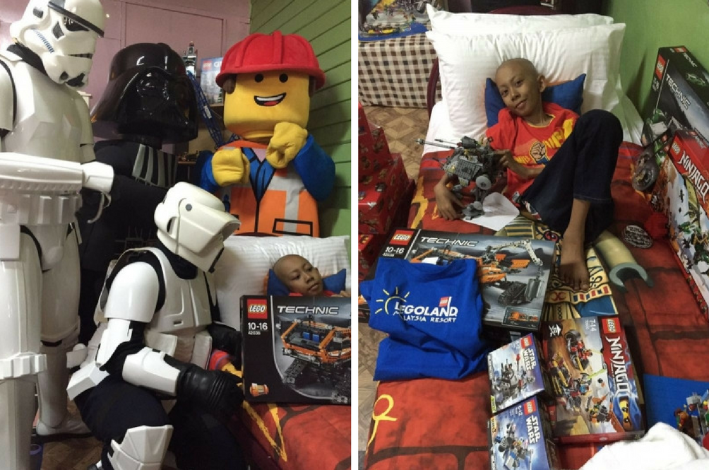 Dying Boy Receives Surprise of a Lifetime from Legoland