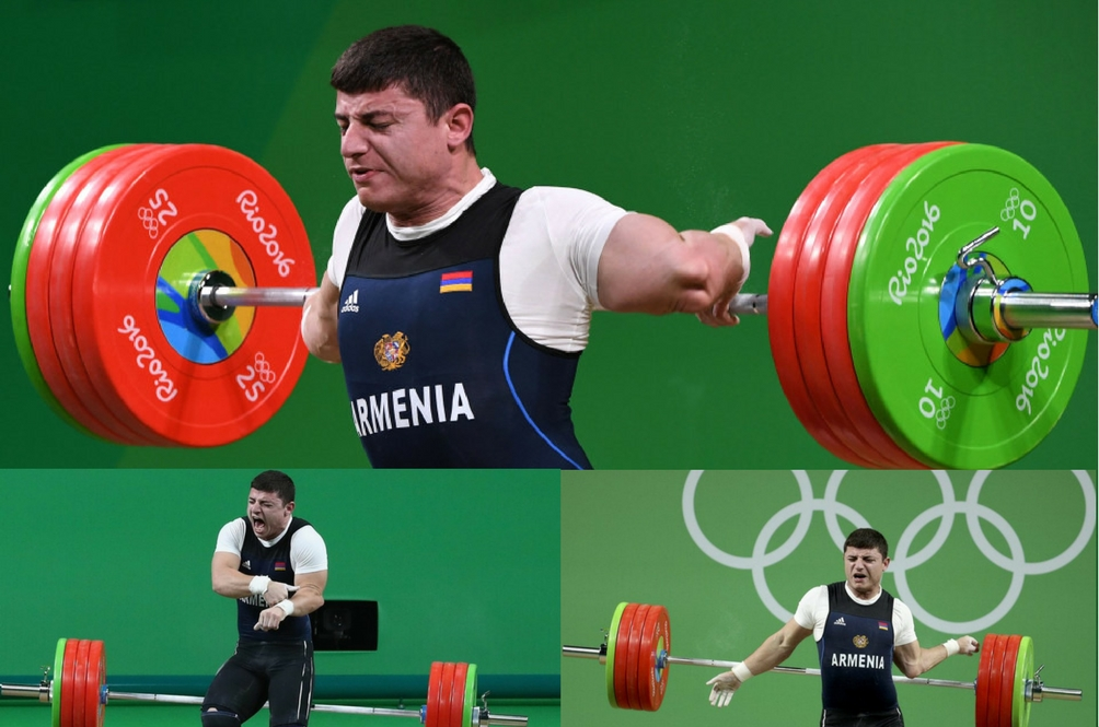 [GRAPHIC] Armenian Weightlifter Dislocates His Elbow at the Rio Olympics
