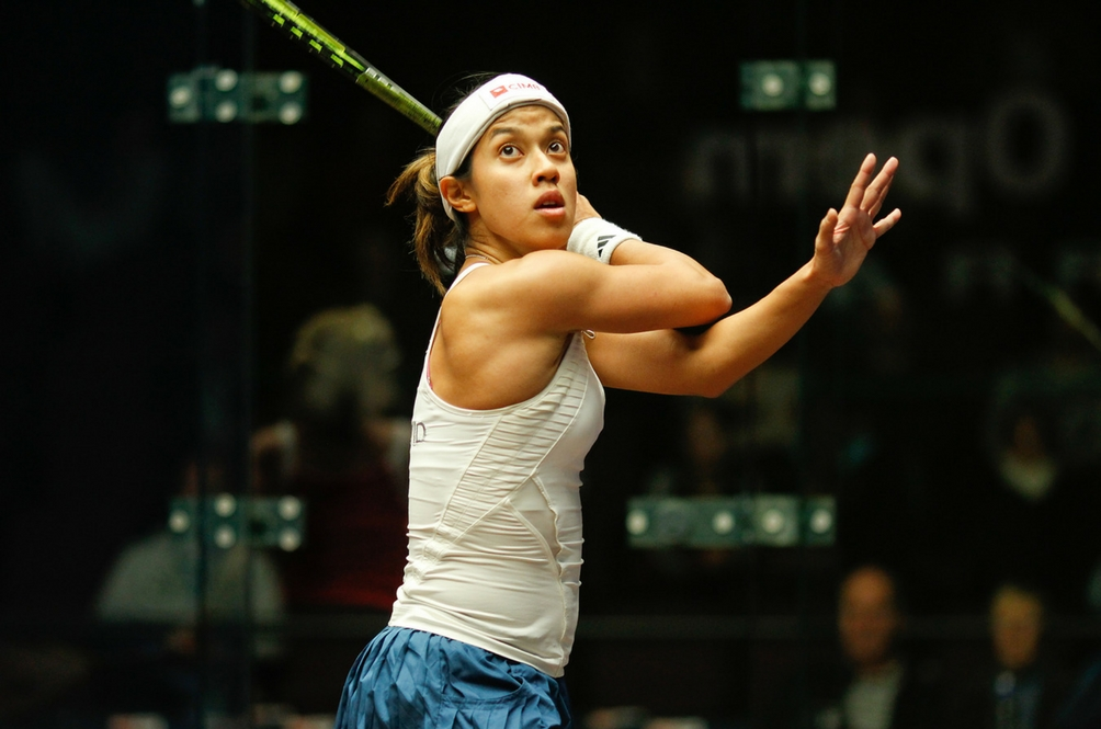 Nicol David is Listed as One of the Greatest Athletes in the World