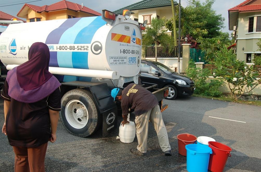 Subang Jaya And Puchong Face Water Disruption