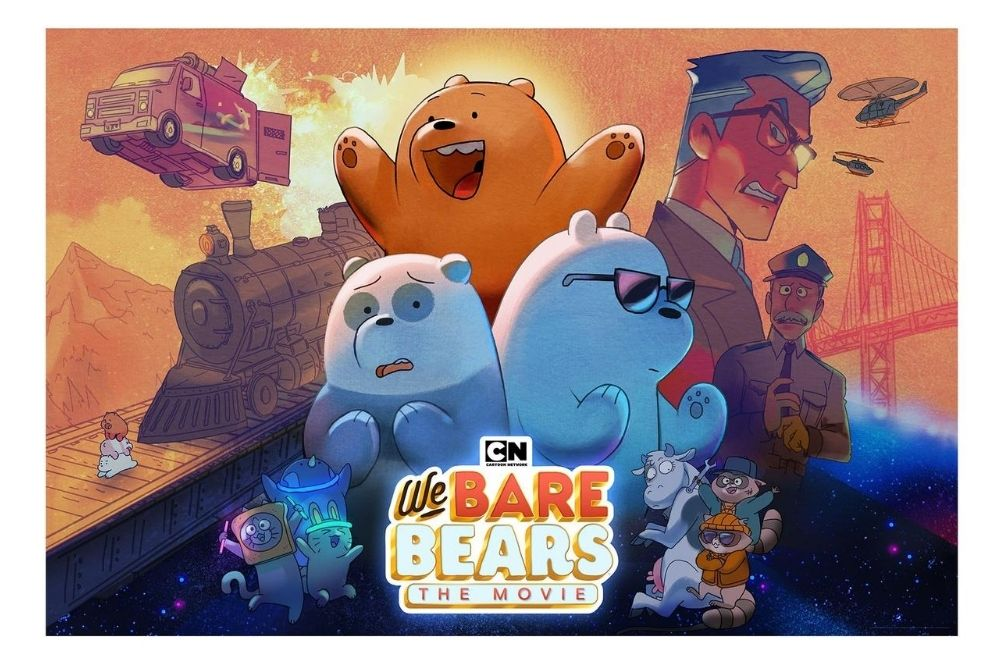 Get Ready For An Adventure With 'We Bare Bears: The Movie' Premiering September