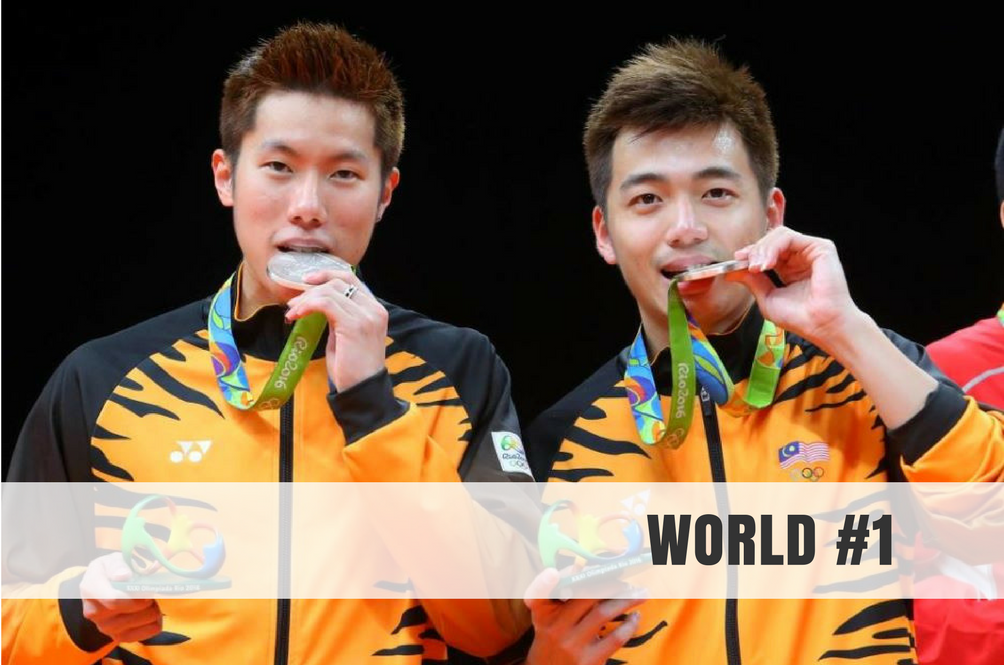 Goh V. Shem and Tan Wee Kiong are Officially World No.1