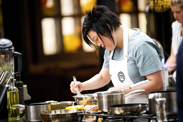 Tiong helped out in the kitchen a lot since she was young.