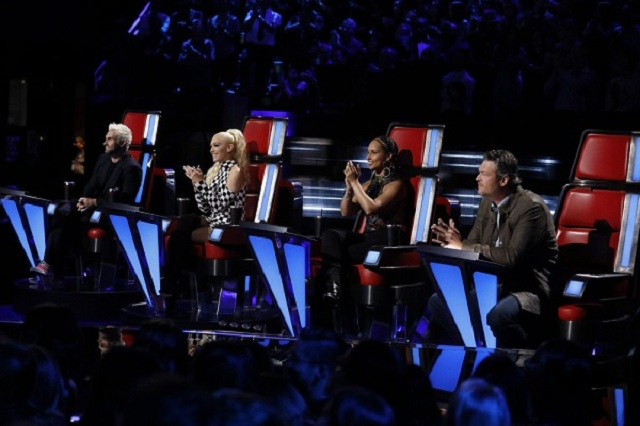 Judges from the latest season of 'The Voice'.