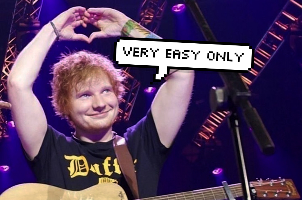 Four Easy Ways To Melt A Girl's Heart, According To Ed Sheeran