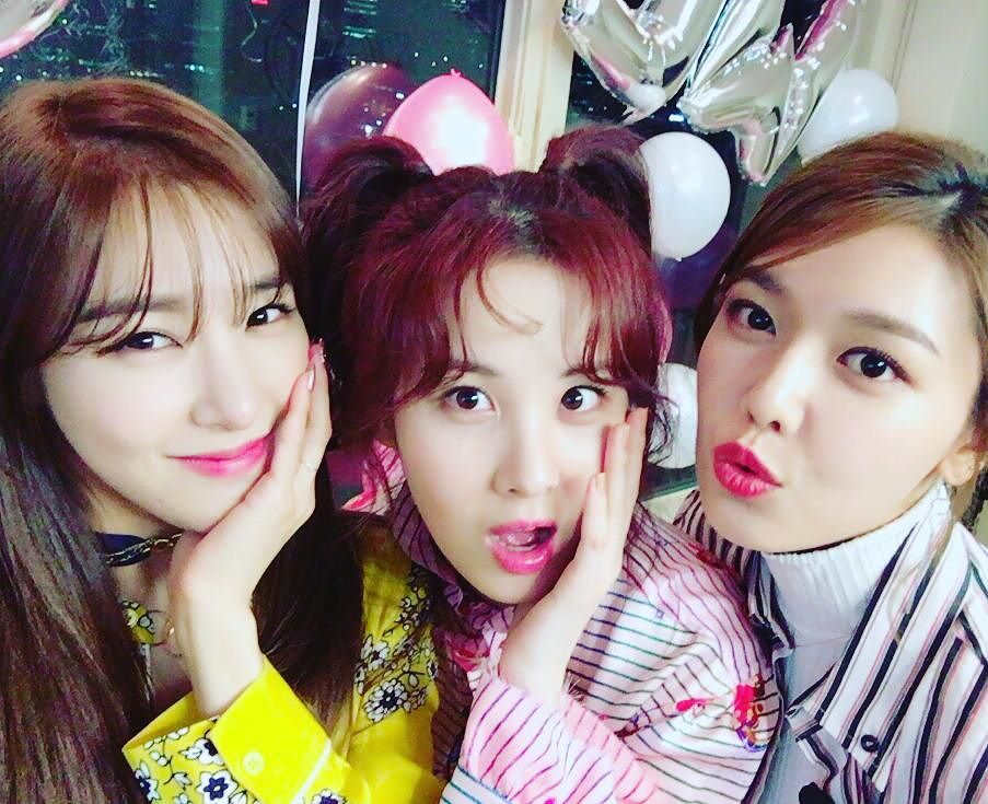(L-R) Tiffany, Seohyun and Sooyoung will no longer be active as Girls Generation.