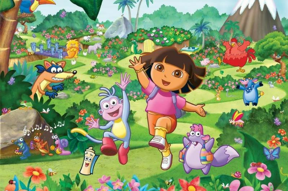 'Dora The Explorer' Is Getting A Live Action Movie And Guess Who's Producing