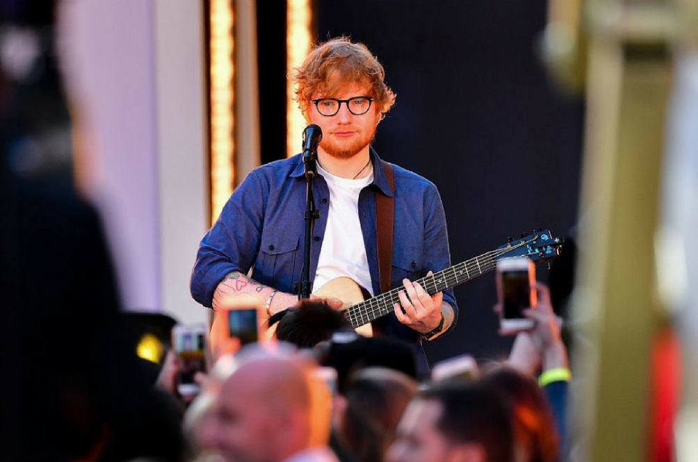 Ed Sheeran Hit By Car In London; Malaysia Concert May Be Cancelled