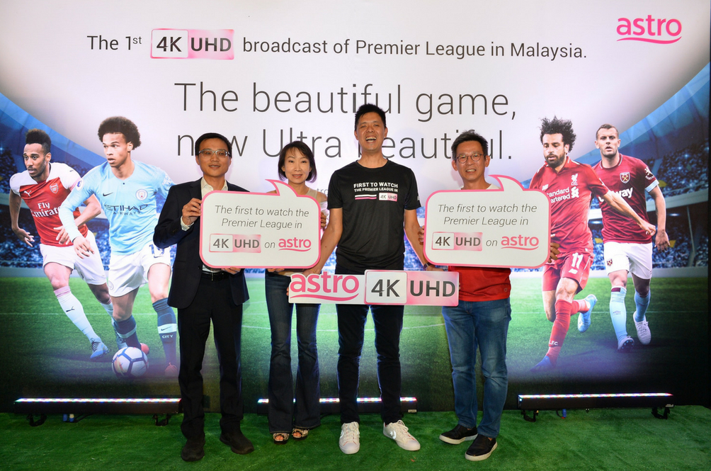 Astro Launches Malaysia's First Live 4K UHD Broadcast