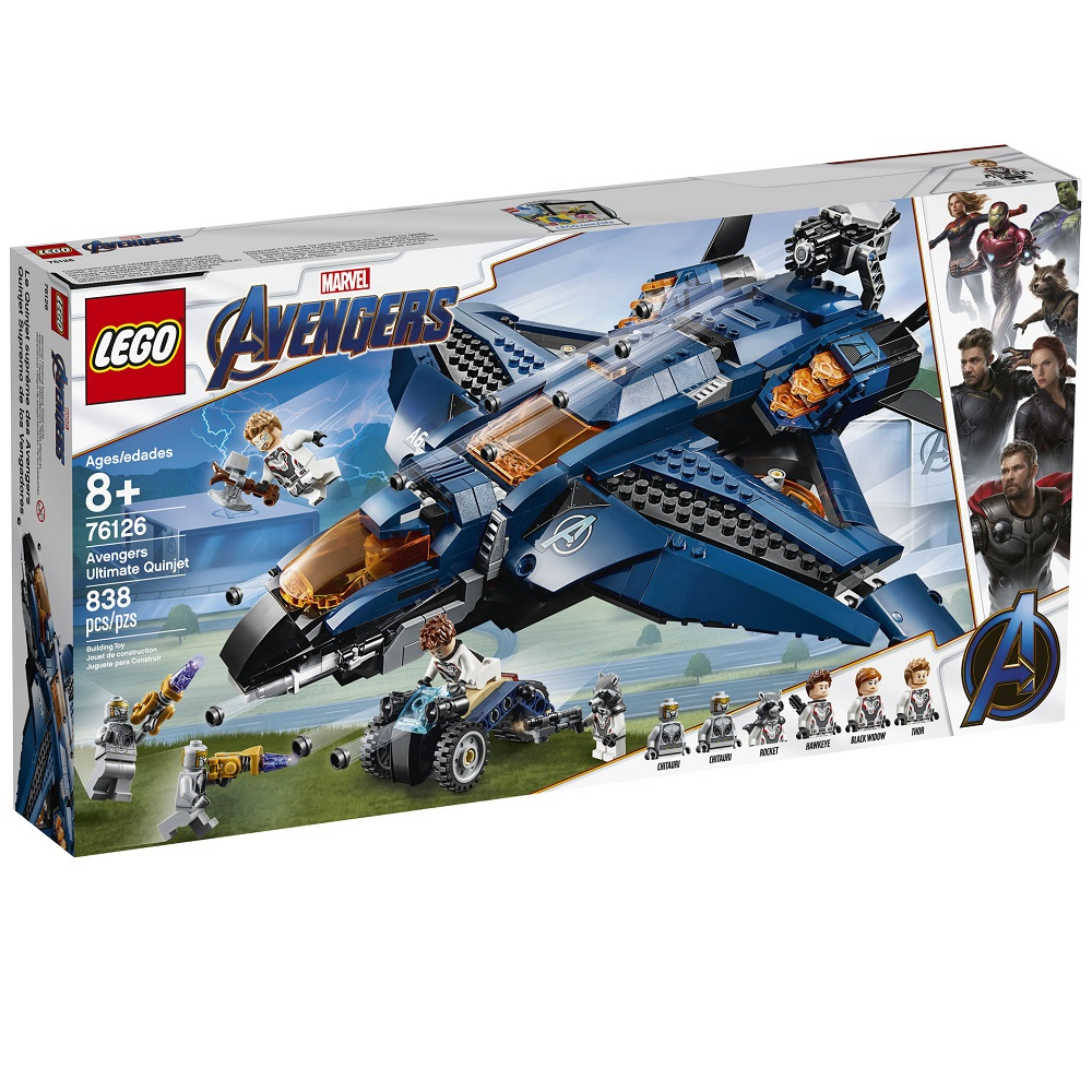 The 'Avengers Ultimate Quinjet' set.