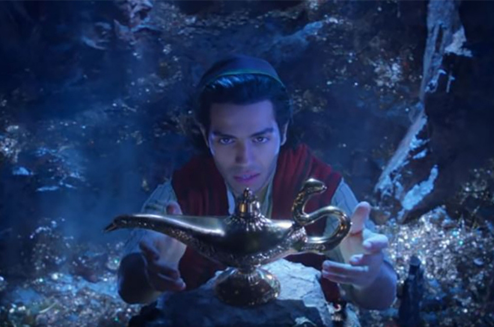 Disney Dropped A New 'Aladdin' Trailer And Don't Worry, Genie Is Actually Blue