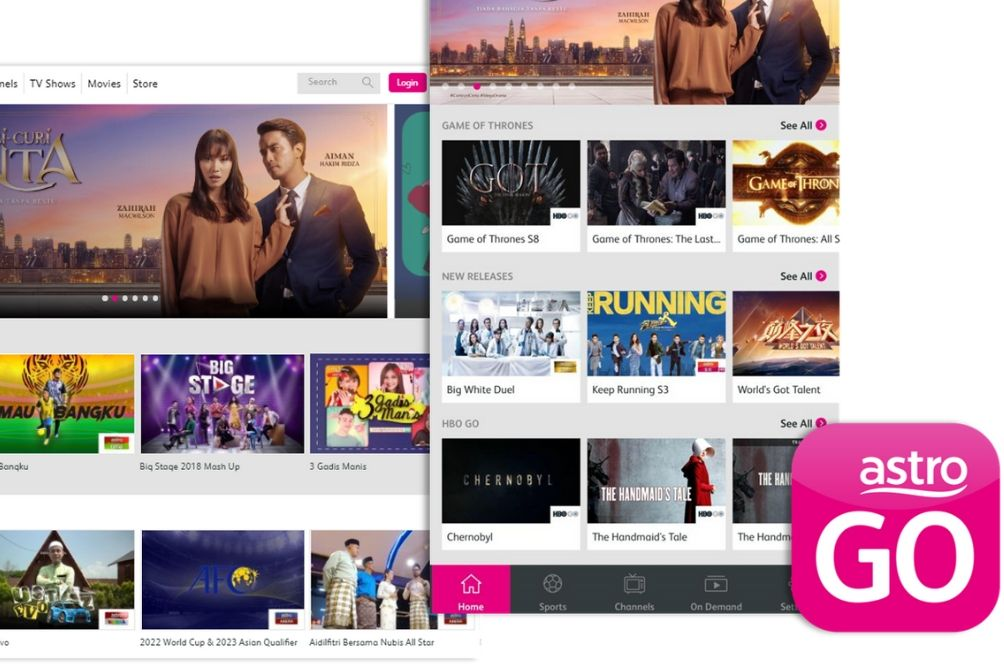 Astro GO Is Malaysia's No. 1 Video Streaming Service