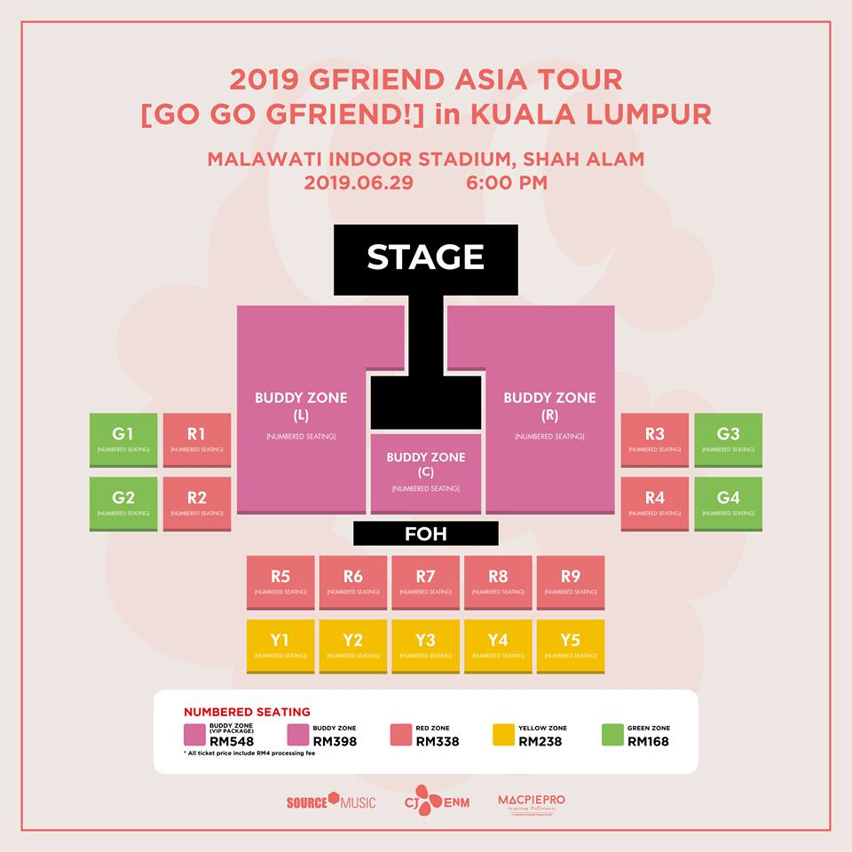 CONTEST] Win Tickets To GFRIEND's Concert And Bring A BUDDY